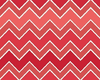 Riley Blake  Fabric Shaded Chevron in Cinnamon