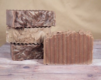 All Natural, Dark Chocolate Delight, Cold Process Soap