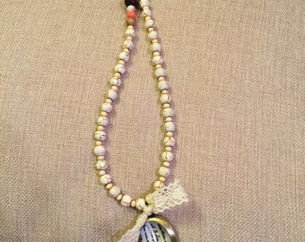 "The ""Anna"" beaded necklace"