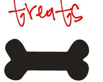 Dog Treat Decal