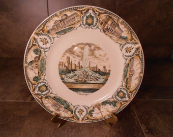 Chicago Illinois Collectible Plate