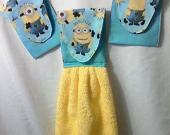 Minions hand towel one piece