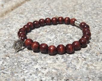 Brown casual bracelet