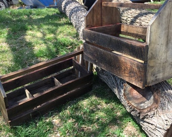 Old style tool boxes