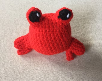 Stuffed Crab, Crab Stuffed Animal, Stuffed Animal Ball, Photo Prop, Under the Sea, Crab Toy, Cute Crab, Crab Plushie, Gift for Kids, Crab