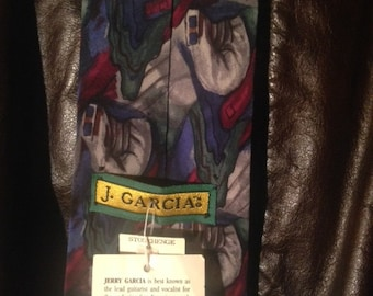 Jerry Garcia collection 7 //neckwear //Grateful Dead //Rock //90's // Psychedelic