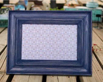 4*6 Picture Frame  Wedding Frame Wood Frame Photo Frame  Shabby Chic Rustic
