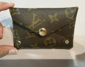 Handmade Pouch made with Authentic Louis Vuitton Monogram canvas