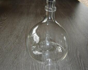 Gobe mouches en verre soufflé. Vintage. France