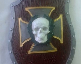 LARP warhammer shield