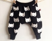 Baby Harem pants cat/black