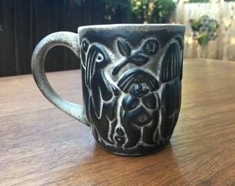 RARE! Howard Pierce Woman's Mug