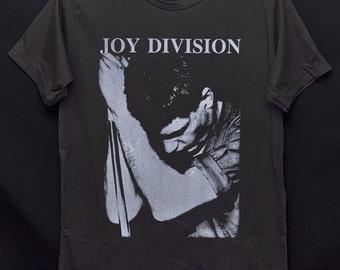 Joy Division Warsaw Rocker Ian Curtis Line Love Will Tear Us Apart Dark Gray Crew Neck Unisex T-Shirt S-XXL
