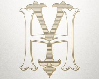 Wedding Logo Design - HY YH - Wedding Logo - Digital