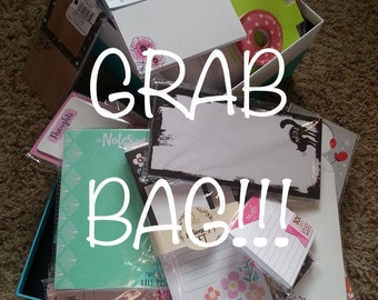 Post-its/Notepads GRAB BAG ~ Target Dollar Spot and More ~ For Planner Girls, Scrapbooking, Pocket Letters, Stationery and Paper Lovers