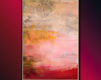 Contemporary Wall Art (Contemporary Painting): Large Abstract Painting, Original Contemporary Abstract Art & Modern Painting ready to hang