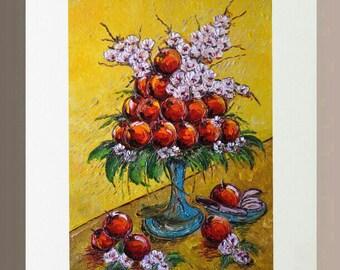 Art Print - Apples in Unity
