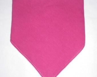 Dark Pink Bandana Bib