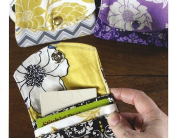 Little Wallet Pattern from Valori Wells Designs