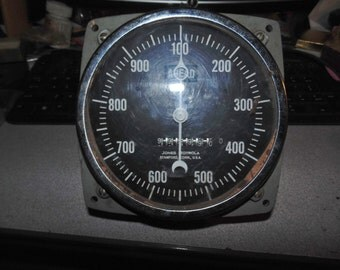 vintage train or ship tachometer jones motorola