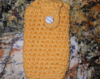 Crochetted Cell Phone Holder
