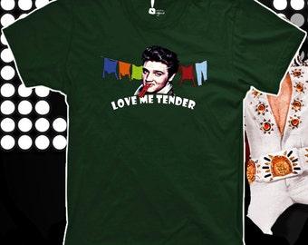 T-shirt woman and man Love Me Tender Elvis t-shirt