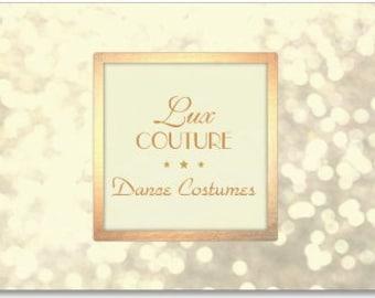 Custom Dance Costume design request