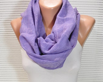 purple scarf  batik scarf  shawl pareo