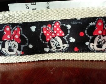 Black and Red Minnie Mouse