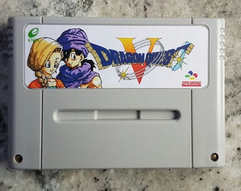 Dragon Quest 5 in English SNES Pal/US/Jap