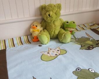 Froggie Baby Blanket