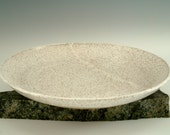 Speckled Stoneware Plate