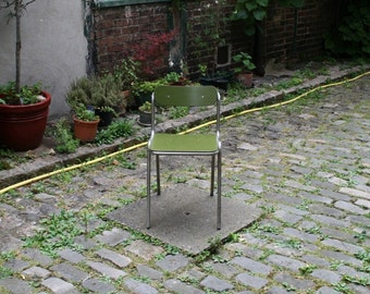 Chairs 50s Green Khaki