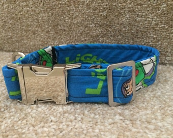 Buzz lightyear dog collar