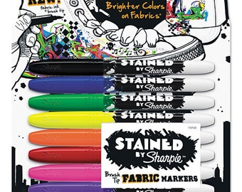 Fabric Markers Set of 8