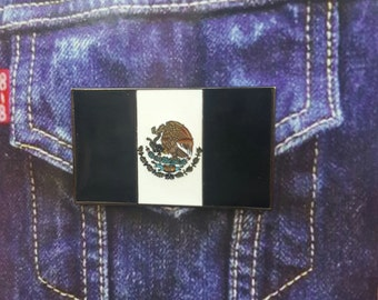 Mexico protest Flag Pin