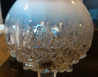 Beautiful Opalescent Rose Vase
