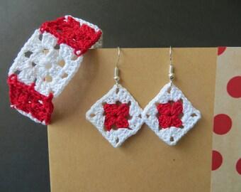 Earrings and Bracelet Set Albena