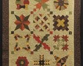 Sampler Quilt (Handmade Primitive Quilt)