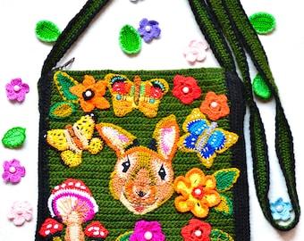 Knitted bag/ Handmade bag