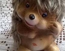 Porcupine,  Cute Porcupine,  Small porcupine, Cute hedgehog,  Vintage porcupine,   Porcupine souvenir,   Ceramic Porcupine