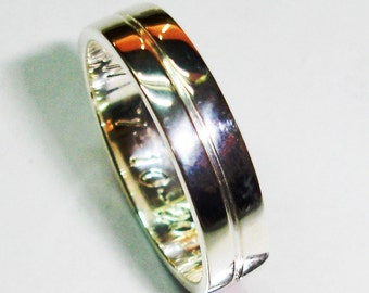 Wedding ring of sterling, A-13, marriage rings wedding rings.