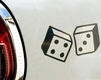Lucky Dice sticker/decal