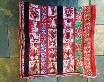 Antique Handwoven Peruvian Textile (Mestana)