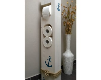 Toilet paper holder Maritim wood