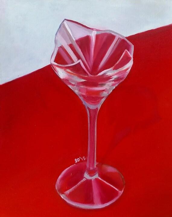 Broken bottle painting   Todd Ford   Pinterest   Bottle ...   Broken Wine Glass Painting