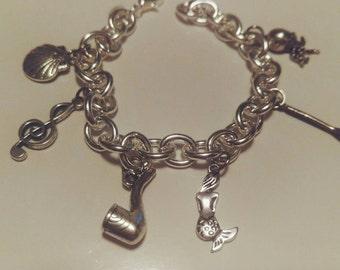 The Little Mermaid Disney charm bracelet