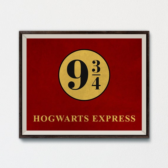 image about Platform 9 3 4 Sign Printable called Hogwarts Specific Indicators popularity