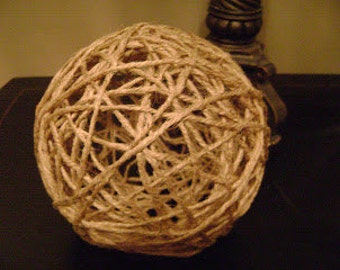"Set of 12 Twine Balls Various sizes 2""-9"""