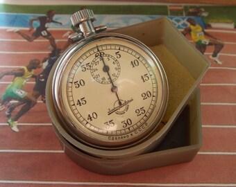 Zlatoust stopwatch. Soviet stopwatch. Mechanical stopwatch. Chronometer USSR.